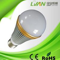 High lumens low cost led bulb light 85-265V SMD5730 720lm 9W 180degree
