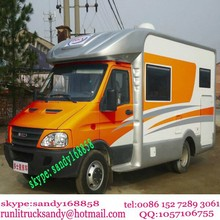 China manufacture 4x2 iveco motor home and caravan