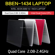 Cheap China slim ultrabook computer with dual core+windows10 2G/32G WIFI,BT4.0/USB3.0 laptop computer