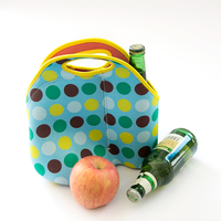 Fashionable designer neoprene cooler bag