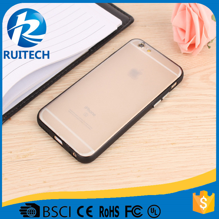 2016 New style slim case for iphone 6/6s plus, for iphone case frosted TPU accessory