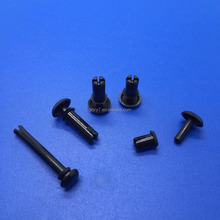 Nylon rivet/en plastique auto attaches clip