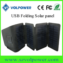 Unique products to sell 2017 W06 Solar panel foldable with 6W USB port