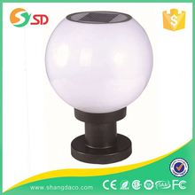 Solar And Rechargeable Battery Outdoor Garden Lighting Lamp Post