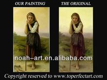 high quality classical women oil painting reproduction from china