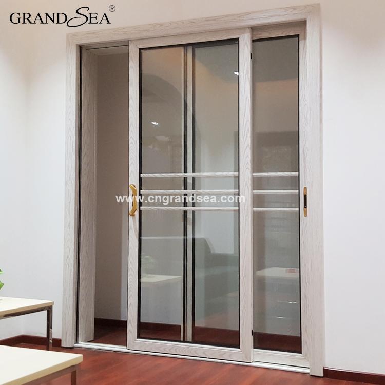 Ultimo disegno interno porta scorrevole in alluminio prezzo-Porta ...