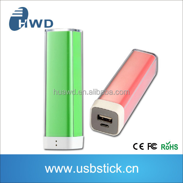 2014 External Mobile Phone Lithium Battery Charger Pack 2000mAh Power Bank Portable/Universal Powerbank/Powerbank