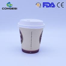 Pe coated milk shake paper cup_mini disposable pe coated milk shake paper cup_striped paper cups