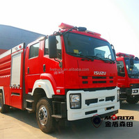 Factory Direct Fire Fighting Truck with Compressed Air Foam System A
