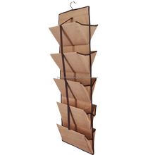 Double Sided Hanging File Rack , Mail/Magazine/BOOK/Sundries Storage Organizer