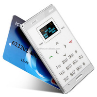DIHAO Aiek M3 Tiny Mini Mobile Phone Ultra-thin Credit Card Size,mini Touch Mobile smartphone AIEK M3 Ultra-thin Watch Pocket ph