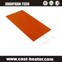 12v 3d printer heating mat silicone heater bed 300*300mm