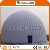 High quality used inflatable tent for sale cheap commercial cold air inflatable tent