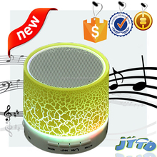 Hot Sale Portable Mini Bluetooth Speaker With LED Light For Computer With TF USB FM radio