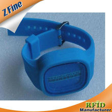 HOT!!1RFID silicon wristband/Pulsera de silicona de energia/silicon RFID bracelets as you design