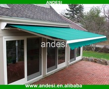 retractable roof systems folding arm awning