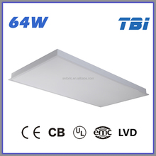 1200x600 LED ceiling panel light surface mounted t8 fluorescent light fixture