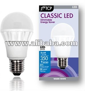 TCP 6w GLS LED bulbs