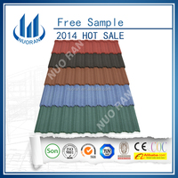 Stone Coated Metal Roofing Tile In