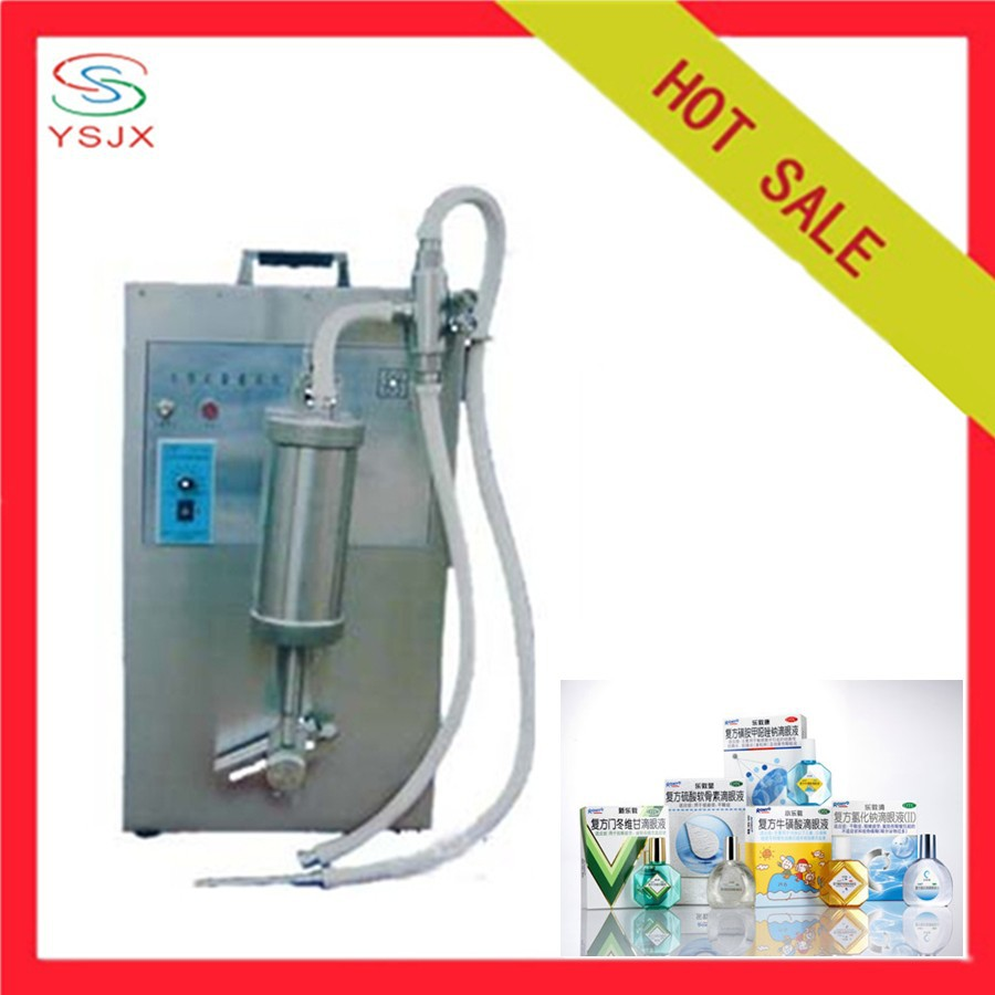 Semi automatic small liquid syringe filling machine