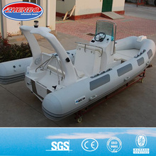 5.2m hypalon rib boat with console and seat