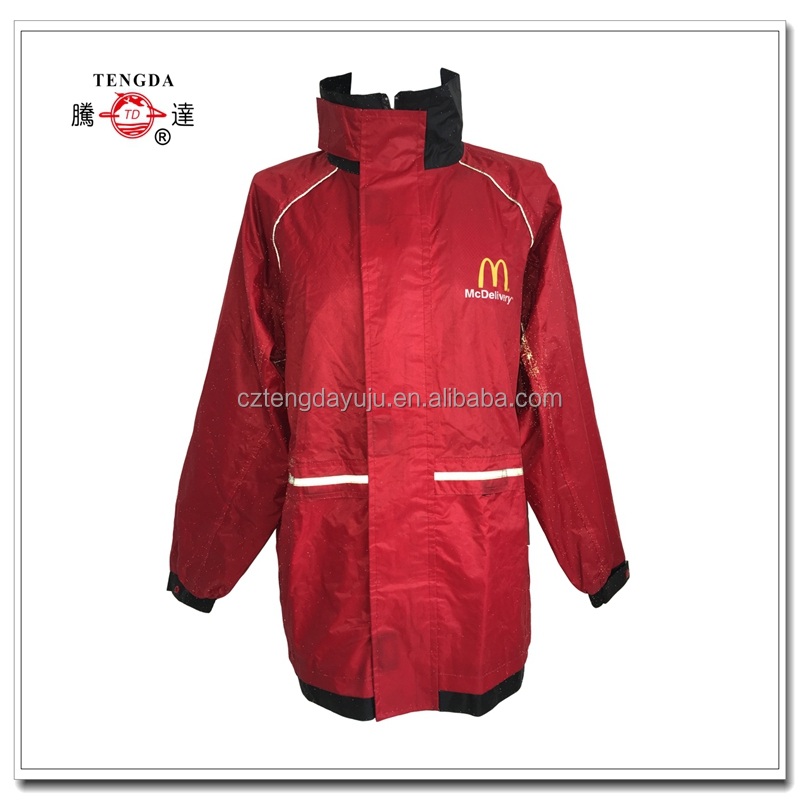 high quality customized rubber rain coat