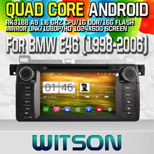 Witson S160 Android 4.4 Car DVD GPS For BMW E46 1998-2006 X3 Z3 Z4 with Quad Core Rockchip 3188 1080P 16g ROM WiFi 3G