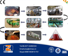 High Oil Yield high quality 30T/D red crude Palm oil production line palm oil refining press