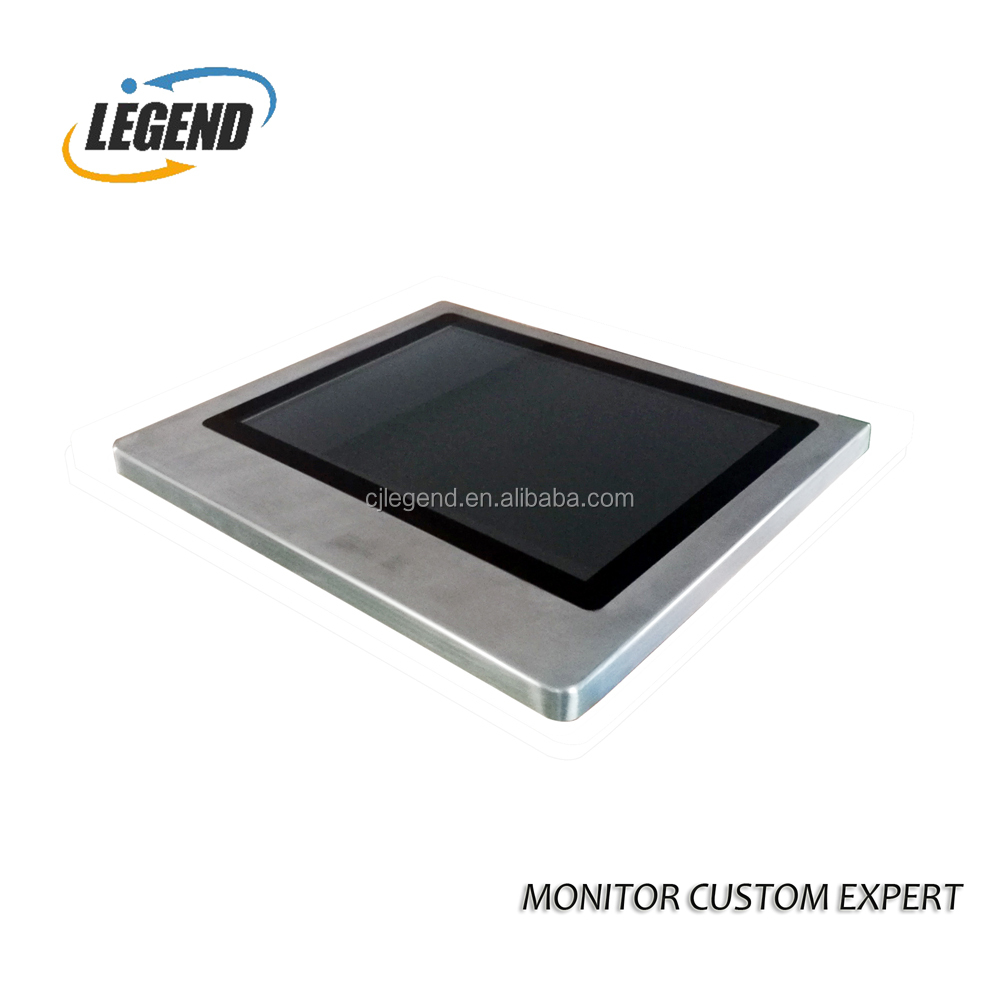 15 Inch IP 65 Touch screen Monitor