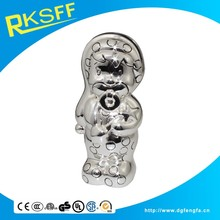 novelty design wholesale low price zinc alloy durable coin bank