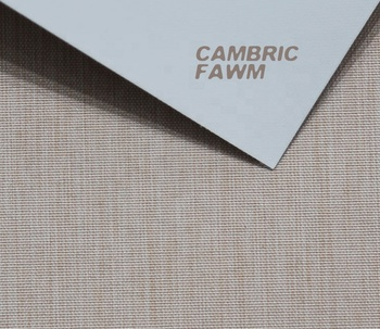 Roller blind blackout fabric-CAMBRIC