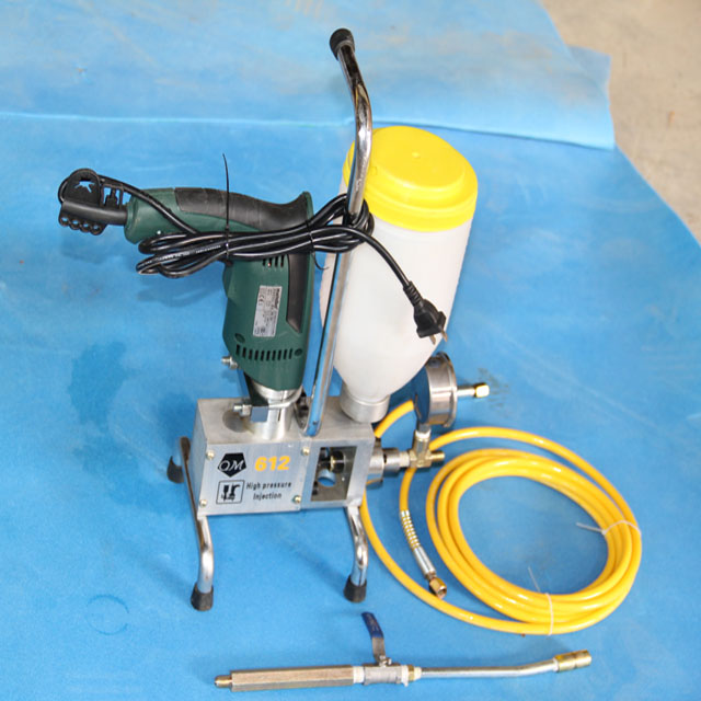 Professional Price PU Grouting Injection Pump For Concrete Crack Repair
