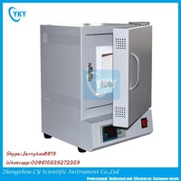CE certified Manufacturer supply Mini1200C ash testing box lab furnace with Cheap price