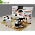 4 by 3 meters cosmetic mall retail shop whole design and manufacture