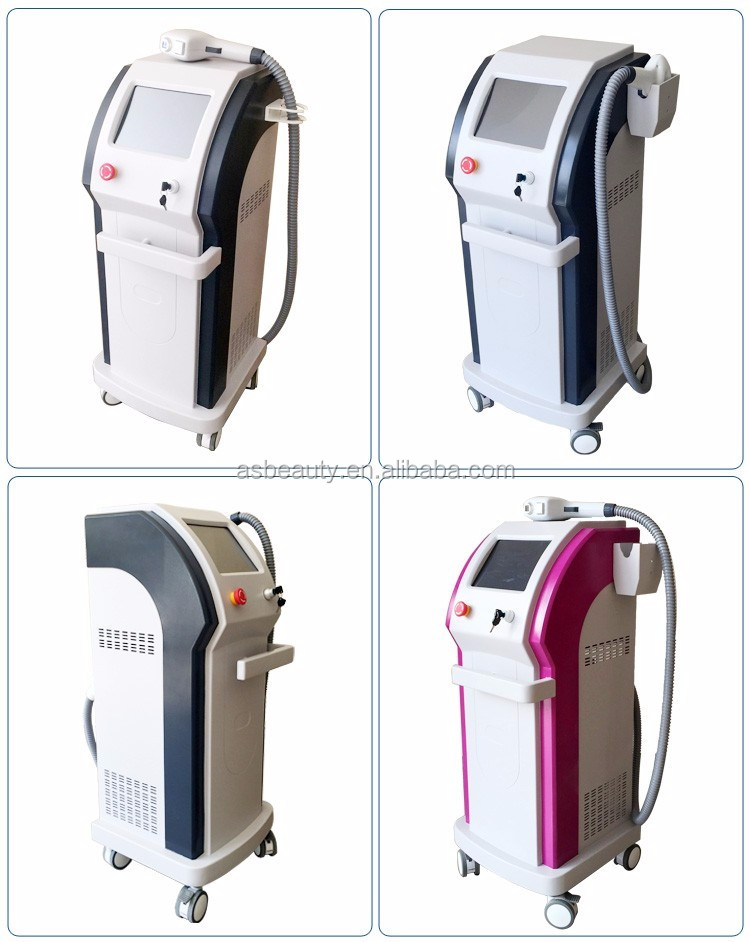 2016 Newest best professional 808nm diode laser hair removal , diode laser hair removal machine
