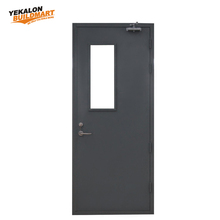 Wholesale Prices Metal Fire Exit Door 1/2/ 3 Hour Fire Rated Glass Door