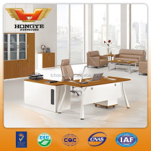 Hot sale modern high quality melamine office executive desk HY-BT13