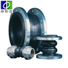 oil resistant rubber stainless steel pipe expansion joints