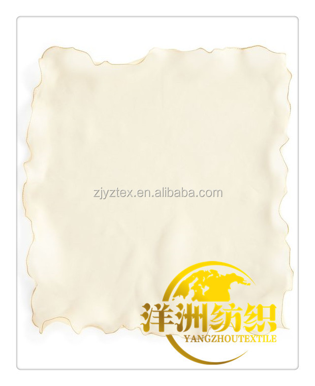2016 new style organza table napkins use for hotel wedding decoration