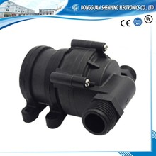 Mini brushless circulation water heater booster pump