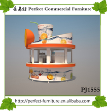 Fiber glass outdoor fruit/orange juice bar kiosk design for sale
