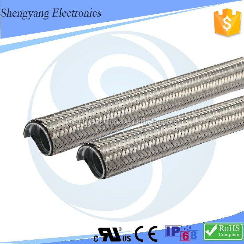 SY Explosion-Proof Stainless Steel Wire Braided Hose Protect Electrical Wiring