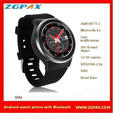 Android OS V5.1 watch phone, Heart rate monitor with Bluetooth 4.0 S99, ZGPAX