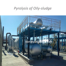 yOMGLE 24-hours NON-STOP Oil Sludge Refining Plant Pyrolysis / Disitllate Waste Oil