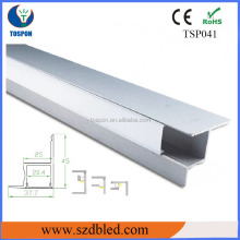 Aluminum led strip channel/led channel/aluminum profile accessory
