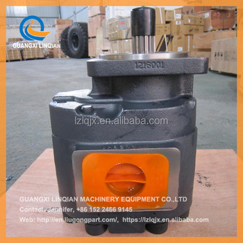 PERMCO gear pump P7600-F160LX (1166041002) /Liugong pump 11C0007 for ZL50C loader
