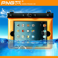 PNGXE compass pvc waterproof bag with neck strap for Ipad mini