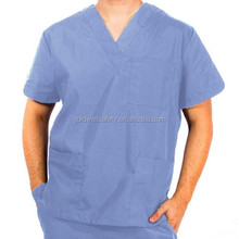 Unisex Natural Uniforms Medical Hospital Nursing Scrub