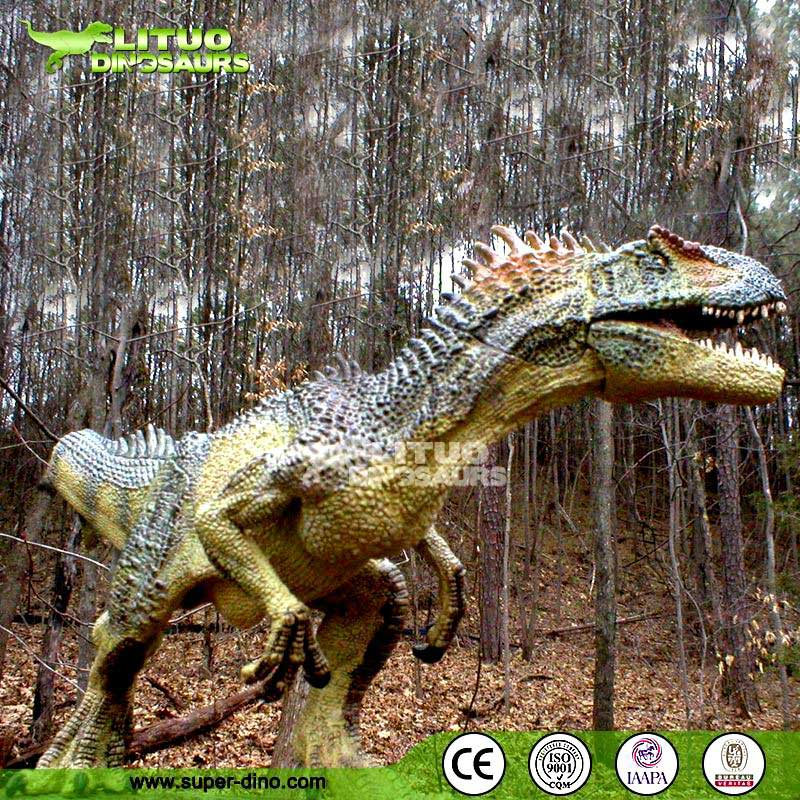 The Park Statue Decor Artificial Dinosaur Model Baryonyx
