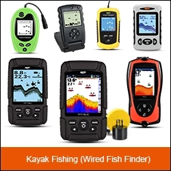 LUCKY portable colorful fishing equipment hot sale FF918C boat fish finder for outdoor sport
